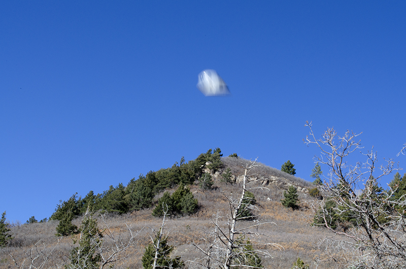 Adrian Pijoan, Photograph of UFO over Sandia